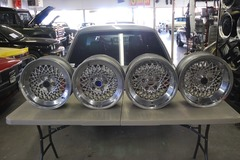 Selling: Porsche Rial Mesh 16x7 and 16x8