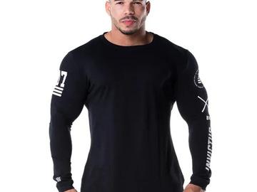Vente avec paiement en ligne:  chemise de Sport à manches longues Sport T-shirt hommes séchage