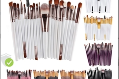 Buy Now:   Cosmetic Makeup Brushes, 1,000 Units, New Condition $1.k retail