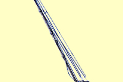 Vermieten: GF- 9 Kransystem bis 10.5 m Höhe (Nutzlast = 27 kg) komplett