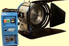 Vermieten: Arri Daylight Compact 2500 Fresnel
