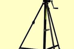 Vermieten: Stative Manfrotto Wind Up (H = 370) mit Radsatz