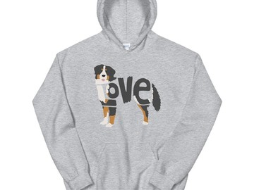 Selling: LoVe Style Hoodie - Bernese Mountain Dog