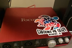 Renting out: Focusrite Scarlett 6i6