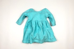 Selling with online payment: Girls Zutano dress, age 12-18 Mths