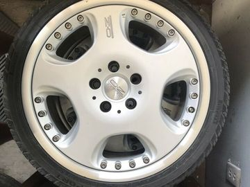 Selling: OZ rims w/ tires