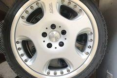 Selling: OZ rims w/ tires