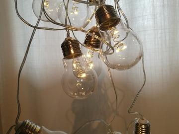 """Ilmoitus: """"Hehkulamppu""""-valosarjat"""