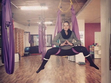Class Offering: Aerial Yoga