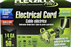 Buy Now:  Lot of 25 Pro Extension Cord, 50', 14/3 All-weather Light Plug