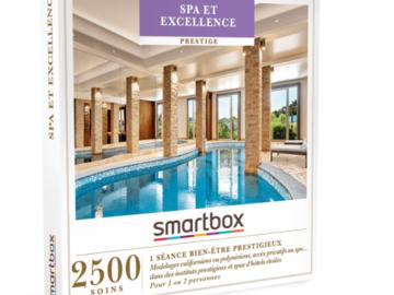 """Vente: Smartbox """"SPA et excellence"""" (129,90€)"""