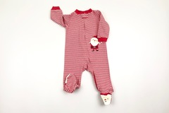 Selling with online payment: Santa romper, age 6-9 Mths