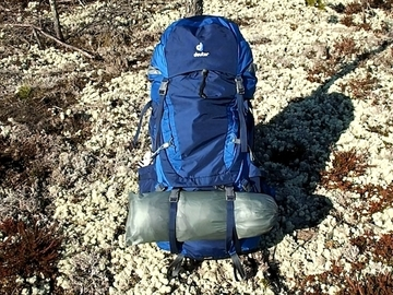 Renting out (per night): Rinkka Deuter Aircontact 65 + 10