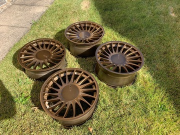 Selling: Custom Bronze 18x8.5/9.5  3sdm 0.04