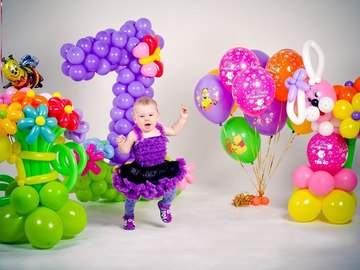 Party supplies / Balloons: Balloons *EXAMPLE*