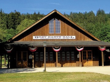 per day with calendar availability: Roaring Camp Railroads - Bret Harte Hall