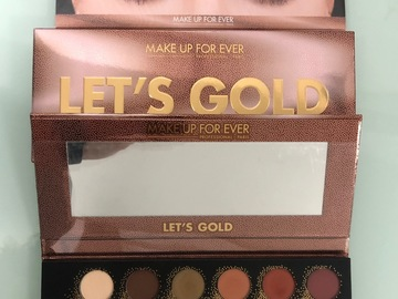 Venta: Paleta Let's gold Make up for ever
