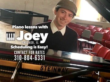 Piano - 60 Minute: Piano lessns with Joey | Lake View, Chicago, IL