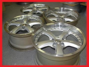 Selling: OZ Racing Vela 2 O.Z wheels rims 18x8.5 18x10 5x114.3 bbs volk lm