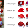 Buy Now: 100 Pieces Christmas hats all of style