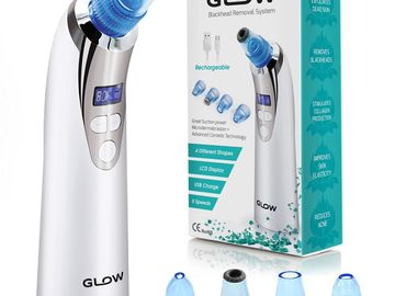 Buy Now: 12 - Blackhead Remover Vacuum Pore Cleaner