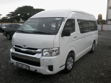 Renting out with online payment: TOYOTA HIACE Minivan- Accra, GHANA