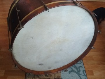 Selling with online payment: 1920's 28'Ludwig bass drum