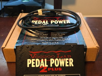 Renting out: Voodoo Lab Pedal Power 2 Plus