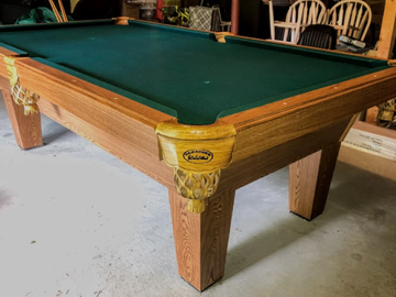Buy Now: 8' OLHAUSEN AUGUSTA SLATE POOL TABLE