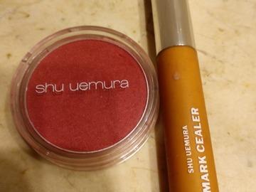 Venta: Colorete Shu Uemura + regalo Mark cealer beige 4