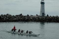 Custom Boat Charter: Outrigger Santa Cruz Canoe Team Building Experience
