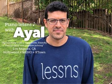 Guitar - 60 Minute: Ayal - Guitar & Piano Teacher (Berklee College of Music)