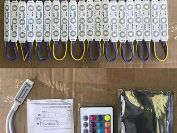 Buy Now: 5 Sets Mini 24 Key IR Remote + 1400 pices  color led light strip