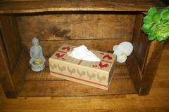 Vente au détail: boîte a mouchoirs coq