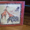 Vente au détail: tableau décor Afrique