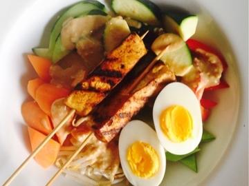 Partage: Gado gado - an Indonesian dish
