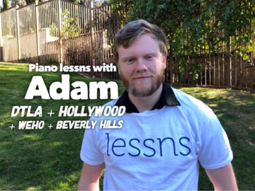 Piano - 60 Minute: Piano lessns with Adam - Alumnus USC Thornton School of Music