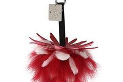 Buy Now: Designer bag charms/Genuine fur