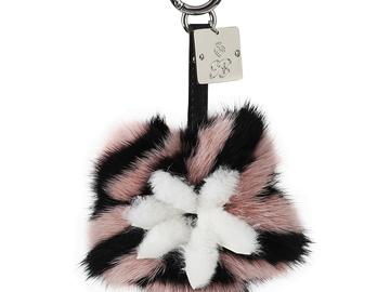 Buy Now: Designer bag charms/Genuine fur/Multi lot