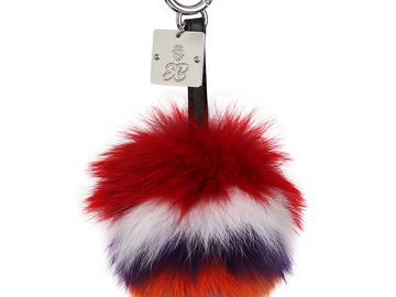 Buy Now: Designer bag charms /Genuine fur