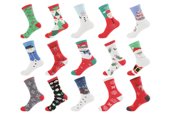 Buy Now: 10 packages include 200 pairs Mid-tube women' s Christmas socks