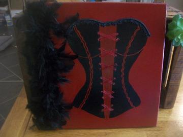 Vente au détail: tableau corset