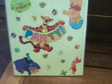 Vente au détail: tableau illustration winie l'ourson