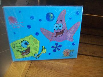 Vente au détail: tableau illustration Bob l'éponge et Patrick