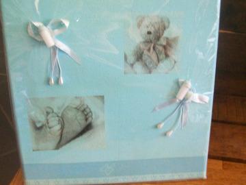 Vente au détail: tableau bébé naissance