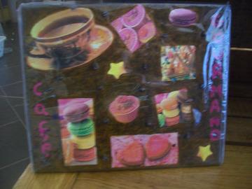 Vente au détail: tableau décor café gourmand