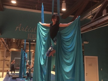 Available To Book & Pay (Hourly): Aerial Fitness Studio