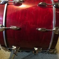 Selling with online payment: Gretsch 20x14 1979 Maple Bass drum, rosewood finish