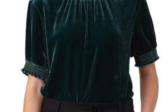 Selling: Linley Top in Emerald Size L