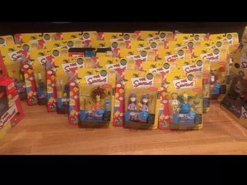 Buy Now: The Simpsons World Of Springfield Playmates Figures Lot